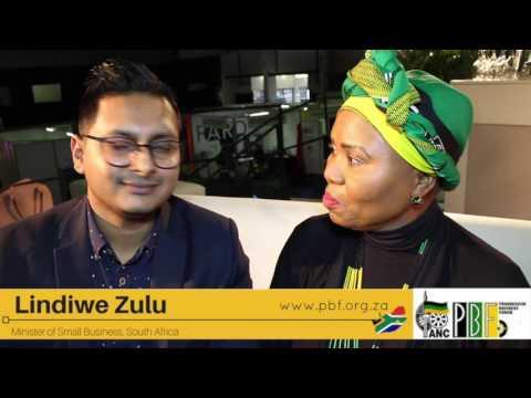 Lindiwe Zulu on Small Business
