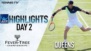 Highlights: Murray Pushes Kyrgios In Comeback Match Queens 2018