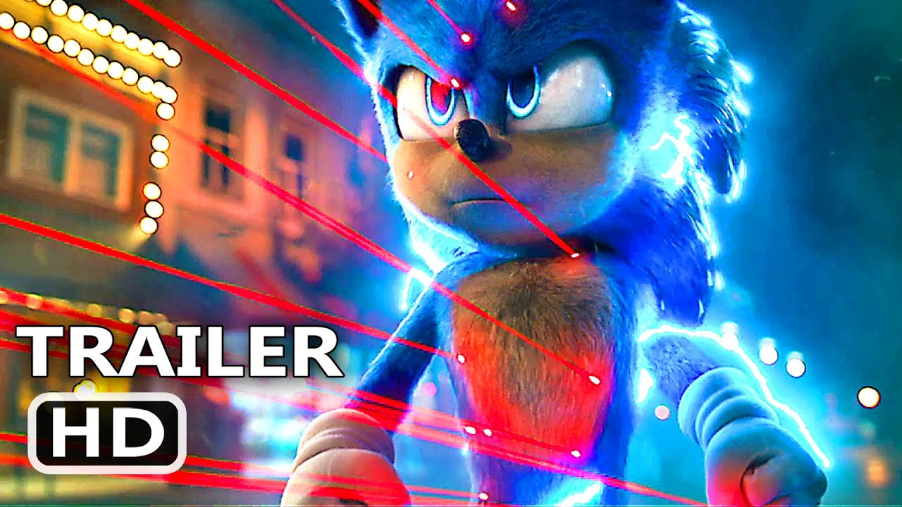 Sonic The Hedgehog Super Bowl Trailer New 2020 Movie Clip Hd Youtube