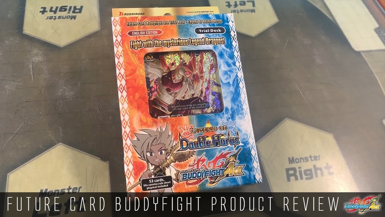 Future Card Buddyfight Trial Deck Review :