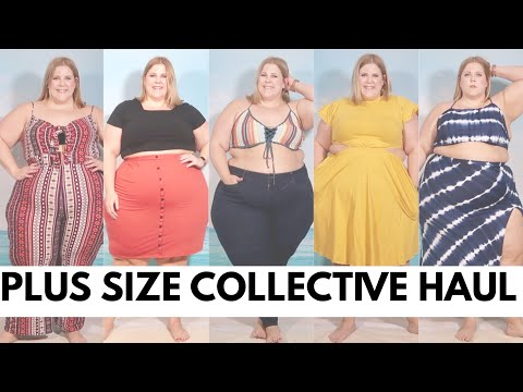 Plus Size Collective Haul Featuring Beach Wear, Dresses + More