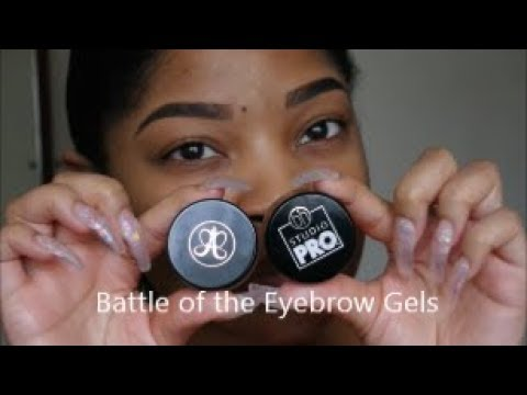 Battle of the Eyebrow Gels