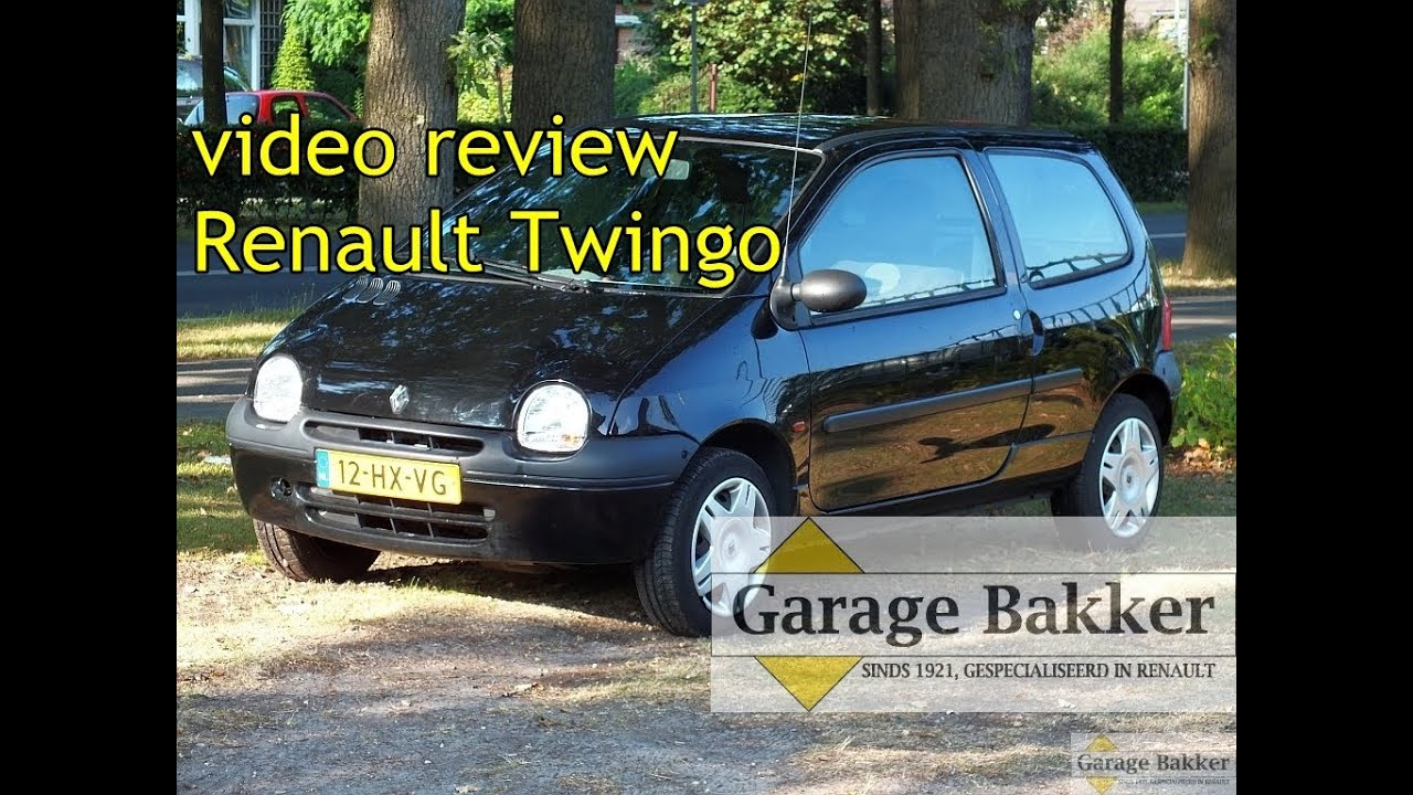 video review renault twingo 1 2 60 authentique 2002 12 hx vg youtube. Black Bedroom Furniture Sets. Home Design Ideas