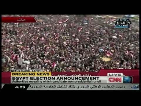Breaking News: Mohamed Morsi elected Egypt's president (6/24/2012)