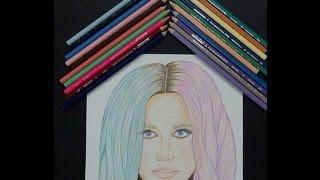 Drawing Kesha wishing her a HAPPY 27th BIRTHDAY !! #Ke$ha