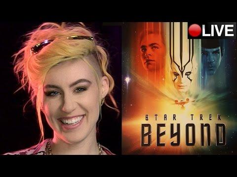 Star Trek Beyond Review + Star Trek Discovery 2017 TV series + Live News