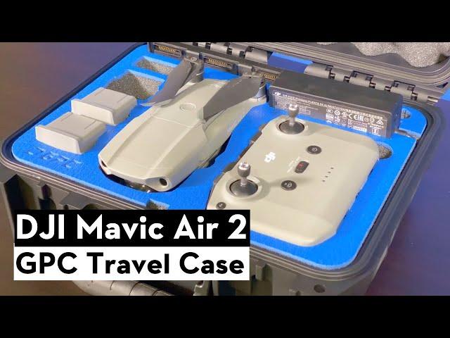 GPC Mavic Air 2 Hard Travel Case - First Look