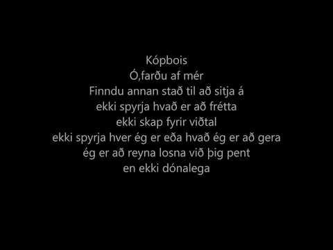 Joey Christ - Joey Cypher ft. Herra Hnetusmjör, Birnir og Aron Can Lyrics/Texti