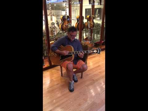 '57 D'Angelico at Rudy's Music