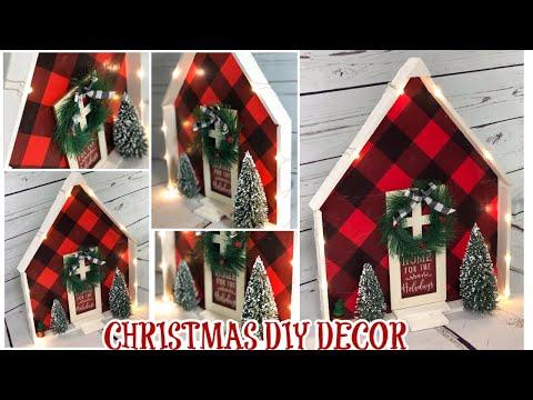 DIY CHRISTMAS DECOR $10 OR LESS COLLABORATION // DOLLAR STORE DIY thumbnail