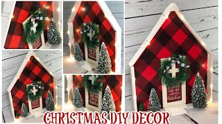 DIY CHRISTMAS DECOR $10 OR LESS COLLABORATION // DOLLAR STORE DIY