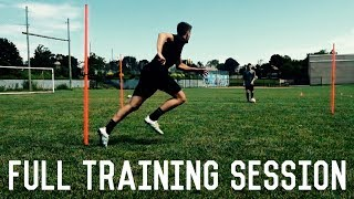 First Touch, Passing and Volley Training | Full Training Session | Partner Drills For Footballers