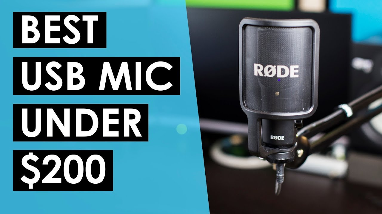 Best USB Microphone Under $200? — RODE NT-USB Review and Sound Test