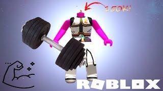 J'AI 150K DE FORCE !! | Roblox Weight Lifting Simulator 3