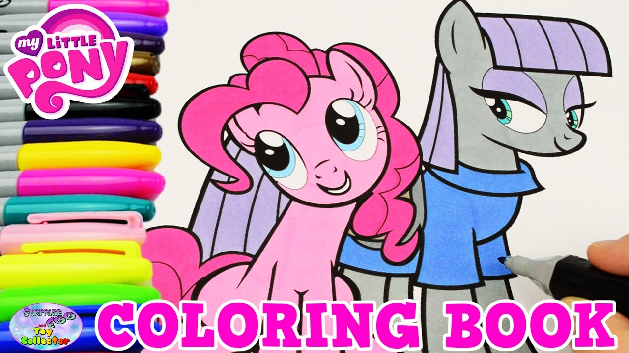 my little pony coloring book pinkie pie maud pie episode surprise