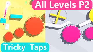 Tricky Taps Walkthrough 3 stars Part 2 level 21-40