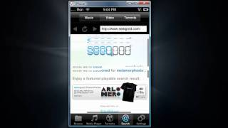 How to Download FREE Music, Videos, and Torrents on your iPhone and iTouch using dTunes