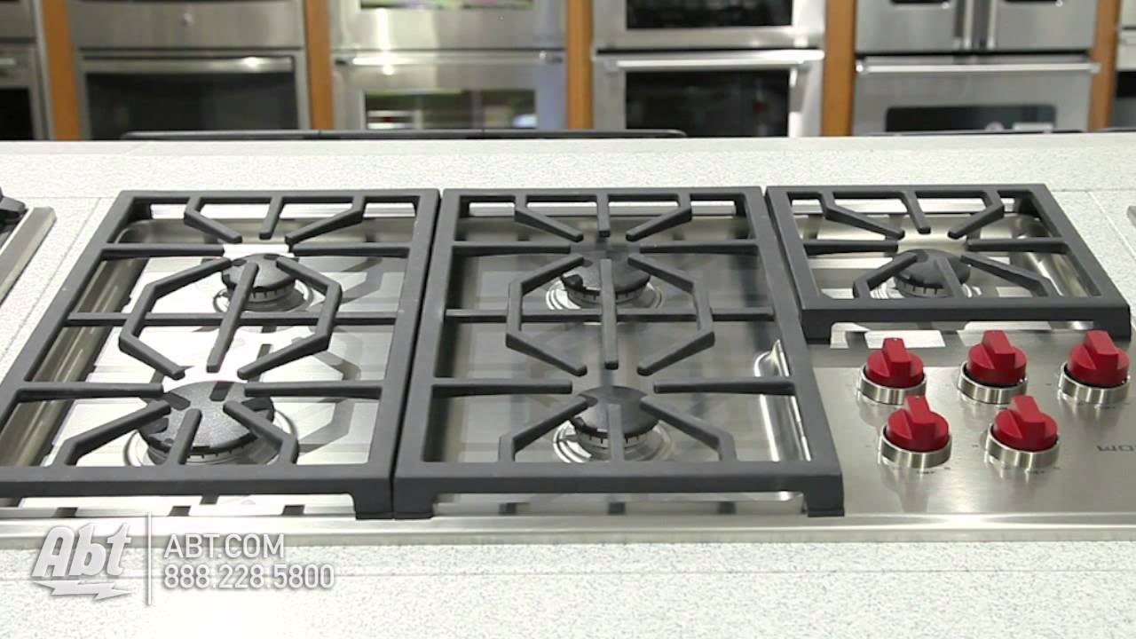 Wolf Professional 36 Inch Gas Cooktop CG365P Overview