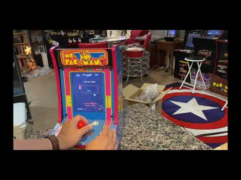 Arcade1Up Ms PacMan Unboxing and Review from The Orrminators
