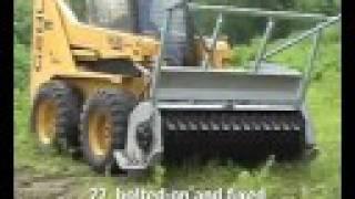 Denis Cimaf Skid Steer Forest Mulcher DAF-180