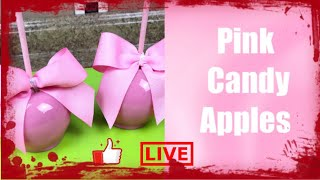 How To Achieve Light Pink Candy Apples