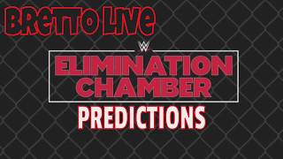 Elimination Chamber Predictions 2019