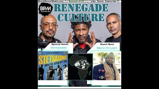 Stetsasonic Premiers Latest Project LIVE on Renegade Culture!