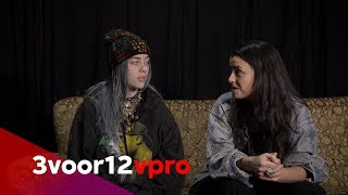 Billie Eilish answers her own questions on fame, dreams and her happy place thumbnail