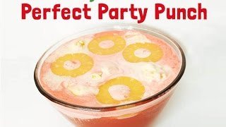 Holiday Party Punch- Holiday Entertaining Made Simple