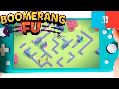 Boomerang Fu Nintendo Switch Lite Gameplay - #3