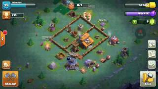 Layout Casa do Construtor CV 3 Clash of Clans 2017