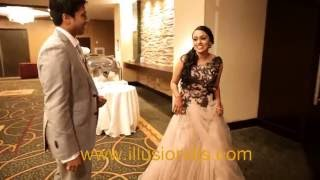 Indian Wedding Crowne Plaza Cherry Hill New Jersey Intro & First Dance for Roshan & Nikita