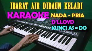 Download lagu CINTA HAMPA [D'LLOYD] KARAOKE NADA COWOK/PRIA | LIRIK, HD