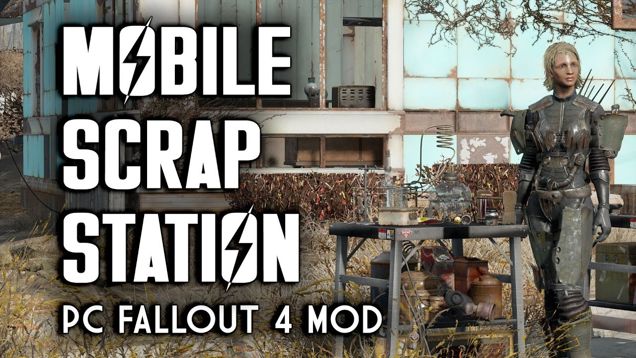 Mobile Scrap Station Plus Small Crafting Benches
