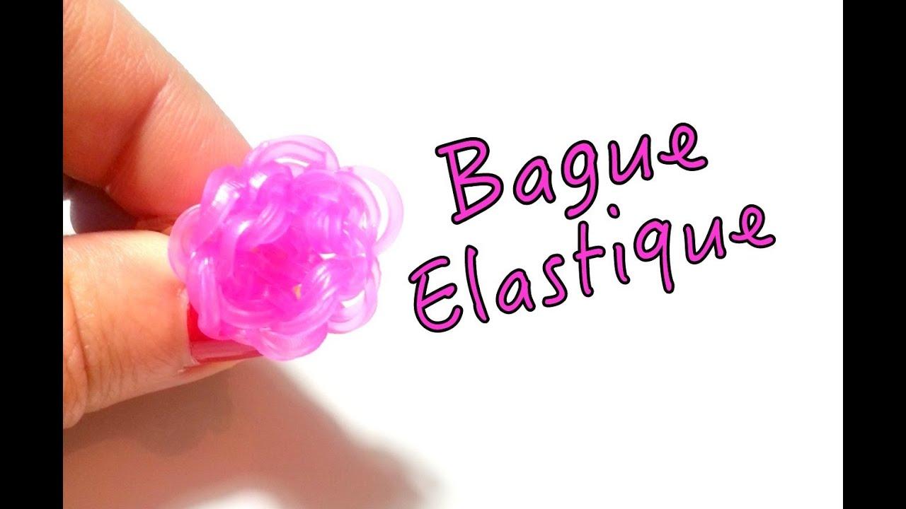 comment faire une bague bouton de rose avec des lastiques sans machine youtube. Black Bedroom Furniture Sets. Home Design Ideas