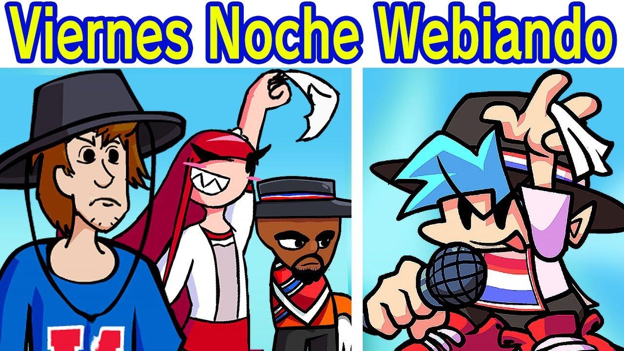 Friday Night Funkin' Vs Viernes Noche Webiando  Semana Completa 'Shaggy, Matt & Maritza