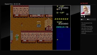 Arcade Archives lkki  (PS4) One Credit Game Sample