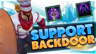 CRAZY BACKDOOR GAMEPLAY | FULL LETHALITY PANTHEON SUPPORT | BunnyFuFuu