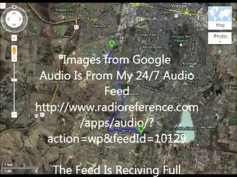 NSW Police Pursuit Police Radio Recording Wagga Wagga 8th September 2012