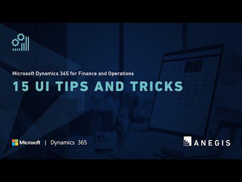 Смотрите сегодня видео новости Microsoft Dynamics 365 for Finance and  Operations: 15 UI Tips and Tricks на онлайн канале Russia-Video-News Ru
