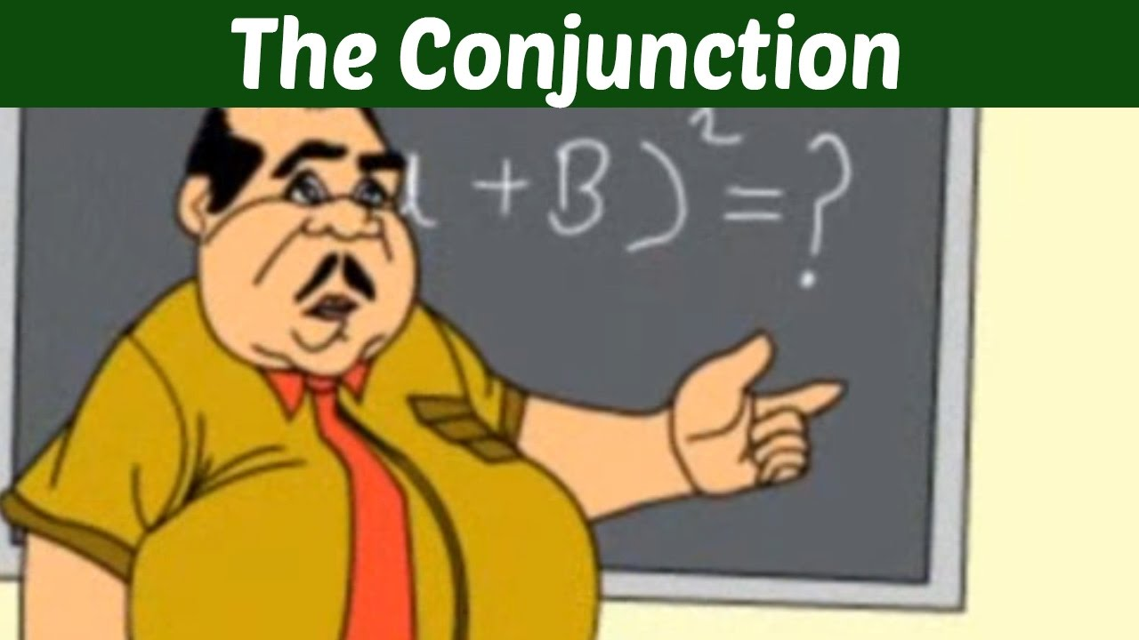 The Conjunction - Learn Basic English Grammar | Kids Educational Video