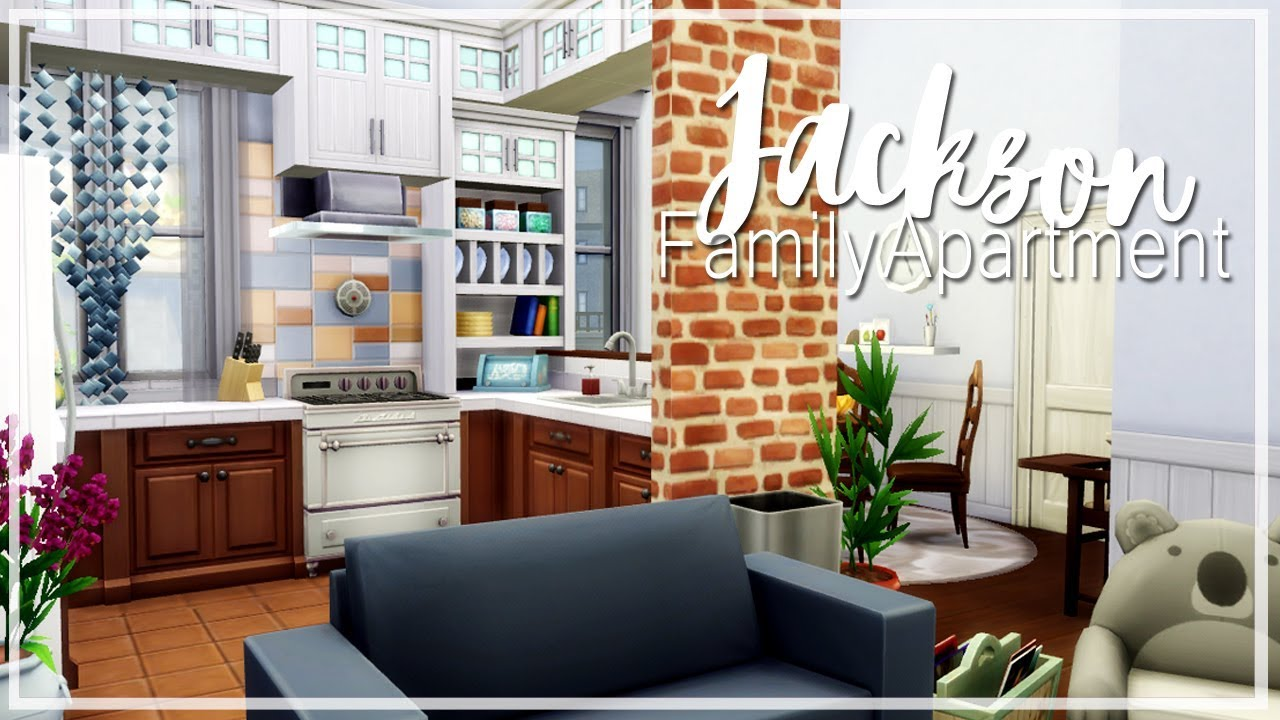 The Sims 4   Builds For You: Jackson Family Apartment    2B ...