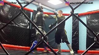 Тренировка мма. Талнах. Норильск. Физическая подготовка. Спорт. Боевые искусства.
