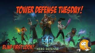 Tower Defense Tuesday - Hero Defense Haunted Island!