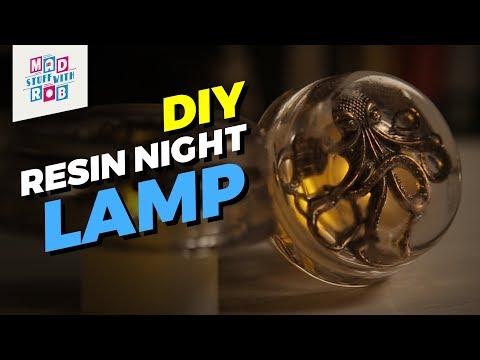 How To Make A DIY Night Lamp