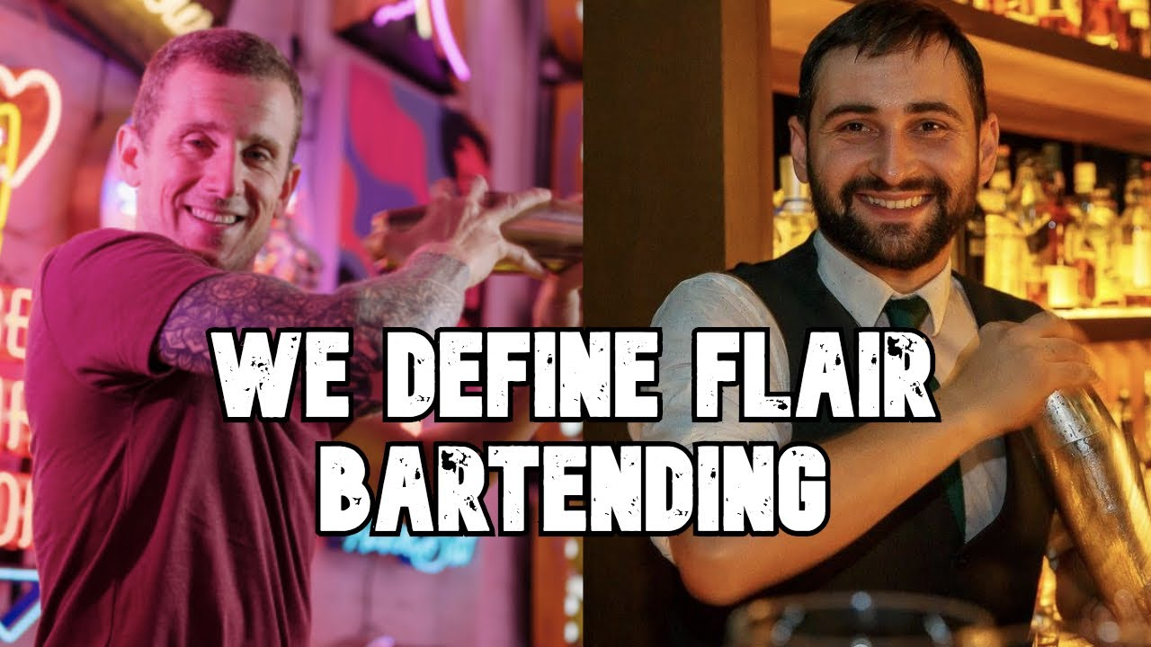 Is this the definition of Flair bartending?