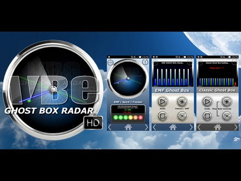 First time recording with VBE GHOST BOX RADAR HD