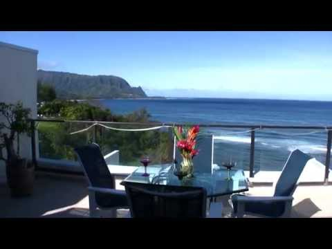 Air Conditioned Bali Hai View Kauai Luxury Penthouse At Puu Poa In Princeville