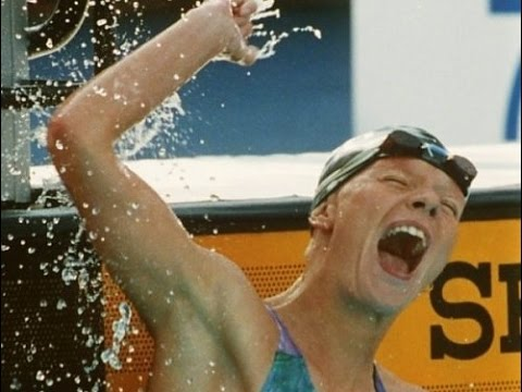 Olympic Games 1992 - 400m Freestyle Dagmar Hase vs. Janet Evans