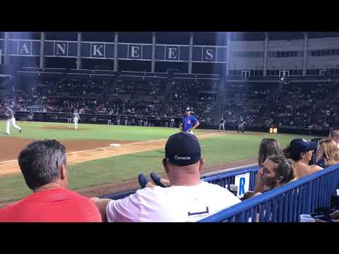 TIM TEBOW HIT IN HEAD BY FASTBALL!!!